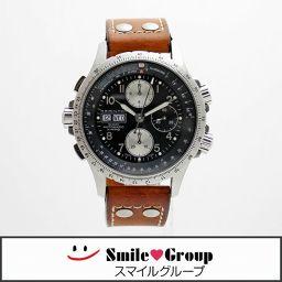 HAMILTON/ハミルトン/カーキ X-ウインド/SS/メンズ腕時計/H776160/自動巻き/ブラック文字盤 【中古】【送料無料】