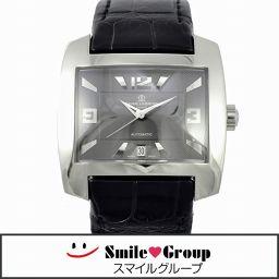 BAUME & MERCIER ボーム&メルシエ ハンプトンスピリット 自動巻き 65394 メンズ腕時計 文字盤グレー [中古][送料無料]
