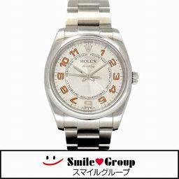 ROLEX/ロレックス/エアキング コンセントリック/SS/114200/メンズ腕時計/自動巻き/アラビア シルバー文字盤 【中古】