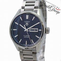 タグホイヤー 腕時計 カレラ キャリバー5 デイデイト WAR201A-0 TAG HEUER メンズ 【中古】【送料無料】