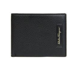 Ferragamo フェラガモ 二つ折り財布 ブラック