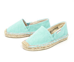 【Size: US11 (about 18cm)】 【Color: 22 SEA BLUE】 SOLDOS Soldos Espadrillesca