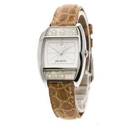 ミキモト パール 腕時計レディース
