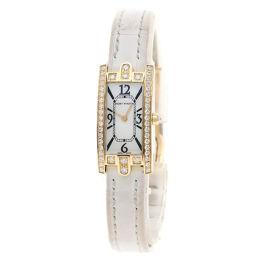 ハリーウィンストン AVCQHM16 アヴェニューCミニ ダイヤモンド 腕時計レディース