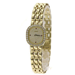 ピアジェ ダイヤモンド 4Pルビー 腕時計レディース