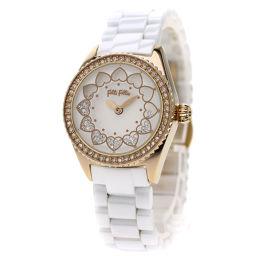 フォリフォリ WF13B018BSW 腕時計レディース