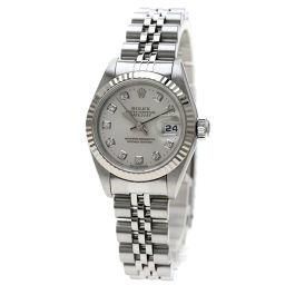 ロレックス 69174G デイトジャスト 10Pダイヤモンド 腕時計 OH済レディース