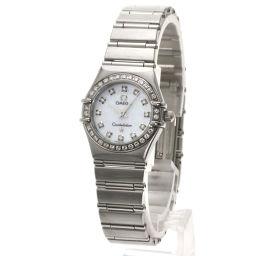 オメガ 1460-75 コンステレーション 12Pダイヤモンド 腕時計レディース