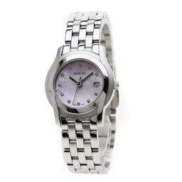 グッチ 5500L 11Pダイヤモンド 腕時計レディース