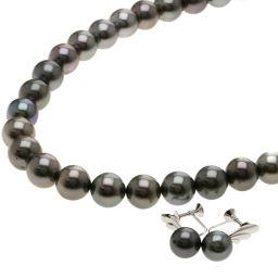 ミキモト パール/真珠/ダイヤモンド/2点セット ネックレスレディース
