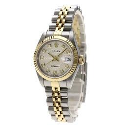 ロレックス 79173G デイトジャスト 10Pダイヤモンド 腕時計レディース