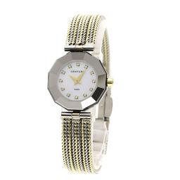 センチュリー プライムタイム 12Pダイヤモンド 腕時計 OH済レディース