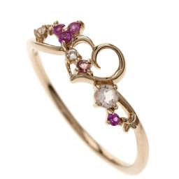 サマンサティアラ ピンクサファイヤ/ホワイトサファイヤ リング・指輪レディース