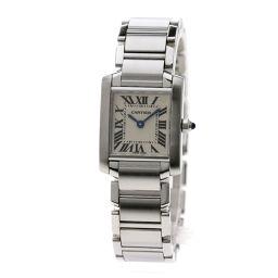カルティエ タンクフランセーズSM 腕時計レディース