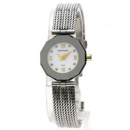 センチュリー タイムジェム 8Pダイヤモンド 腕時計レディース