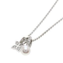ミキモト パール/真珠/ダイヤモンド ネックレスレディース