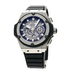 ウブロ 701.NX.0170.RX.1104 キングパワー ウニコ スケルトン文字盤 ダイヤモンド 腕時計メンズ
