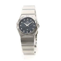 オメガ 123.10.27.60.53.001 コンステレーション ブラッシュ 12Pダイヤモンド 腕時計レディース