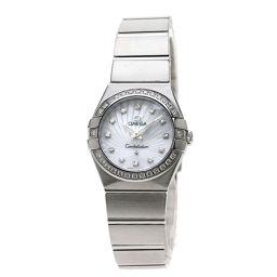 オメガ 123.15.24.60.55.002 コンステレーション ブラッシュ12Pダイヤモンド 腕時計レディース