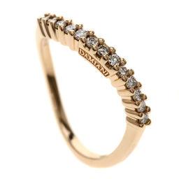 ダミアーニ ダイヤモンド/ウェーブ リング・指輪レディース