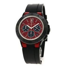 ブルガリ DG42C9SMCVDCH ディアゴノ マグネシウム 腕時計 OH済メンズ