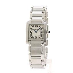 カルティエ タンクフランセーズSM 腕時計 OH済レディース