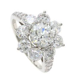 ハリーウィンストン サンフラワー/ラウンドブリリアント/ダイヤモンド リング・指輪レディース