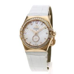 オメガ 123.58.35.20.55.001 コンステレーション コーアクシャル 12Pダイヤモンド 腕時計ボーイズ