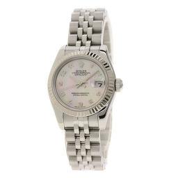 ロレックス 179174NA デイトジャスト アラビア 腕時計 OH済レディース