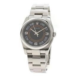 ロレックス 116000 オイスターパーペチュアル 36 オレンジサークル 腕時計メンズ