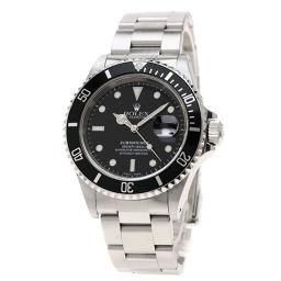ロレックス 16610 サブマリーナ デイト 腕時計 OH済メンズ