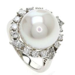 ミキモト 白蝶貝真珠/パール/ダイヤモンド リング・指輪レディース