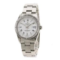 ロレックス 15210 パーペチュアルデイト エンジンターンドベゼル 腕時計 OH済メンズ