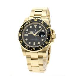 ロレックス 116718LN GMT マスター2 腕時計メンズ
