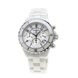 シャネル H1007 J12 41 クロノグラフ 腕時計メンズ