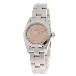 ロレックス 67180 オイスターパーペチュアル 腕時計 OH済レディース