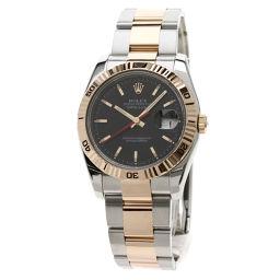 ロレックス 116261 デイトジャスト ターノグラフ 腕時計 OH済メンズ