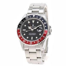 ロレックス 16710 GMTマスター2 赤黒ベゼル 腕時計 OH済メンズ