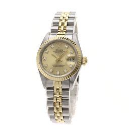 ロレックス 69173G デイトジャスト 腕時計 OH済レディース