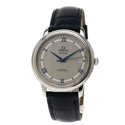 オメガ 424.13.40.20.02.003 デビル プレステージ コーアクシャル 腕時計 OH済メンズ