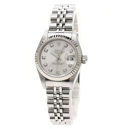 ロレックス 79174G デイトジャスト/10Pダイヤモンド 腕時計レディース