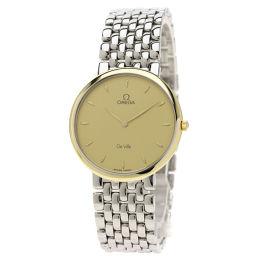オメガ デビル 腕時計 OH済メンズ