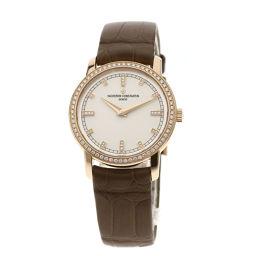 ヴァシュロン・コンスタンタン パトリモニートラディッショナル/12Pダイヤモンド 腕時計レディース