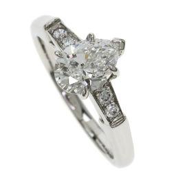 ハリーウィンストン ペアシェイプトリストリング/ダイヤモンド リング・指輪レディース