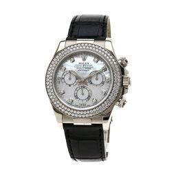 ロレックス 116589RBR コスモグラフ デイトナ 8Pダイヤモンド 腕時計メンズ