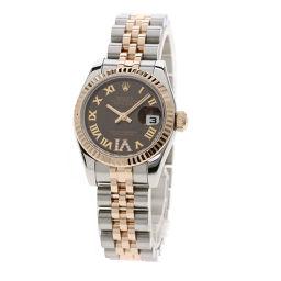 ロレックス 179171 デイトジャスト/ローマン/ダイヤモンド 腕時計レディース