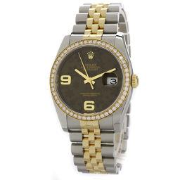 ロレックス 116243 デイトジャスト ブロンズフラワー 腕時計メンズ