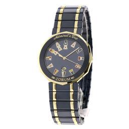 コルム 99.810.31 V552 アドミラルズカップ ガンブルー 腕時計メンズ