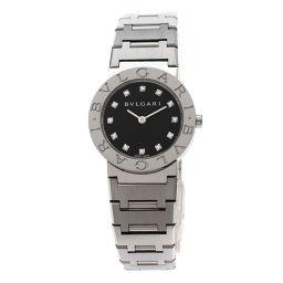 ブルガリ BB26SS/12 ブルガリブルガリ 12Pダイヤモンド 腕時計レディース