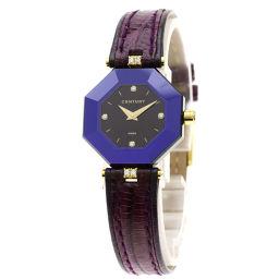 センチュリー プライムタイム 4Pダイヤモンド 腕時計レディース